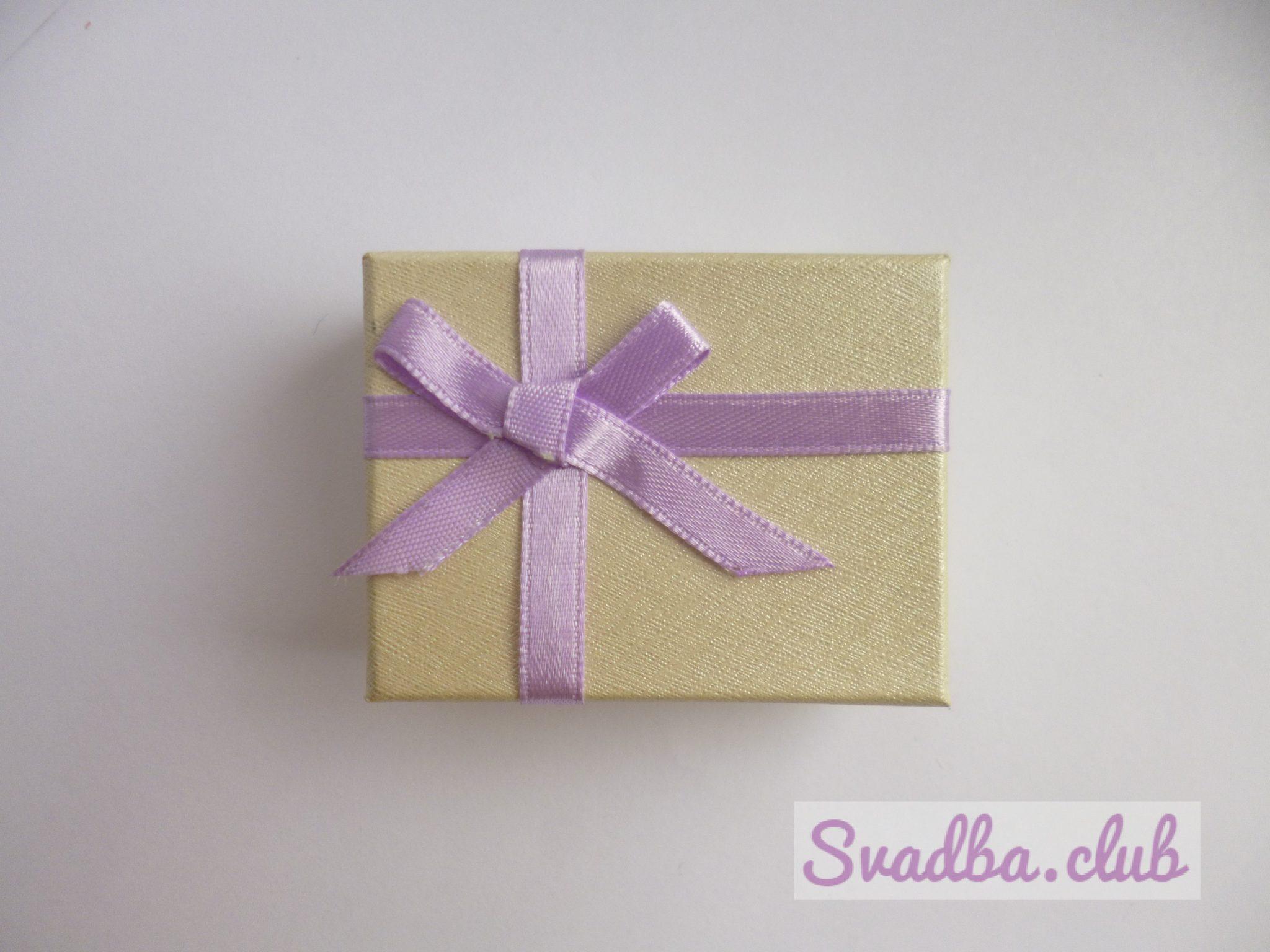 Фото упакованного подарка