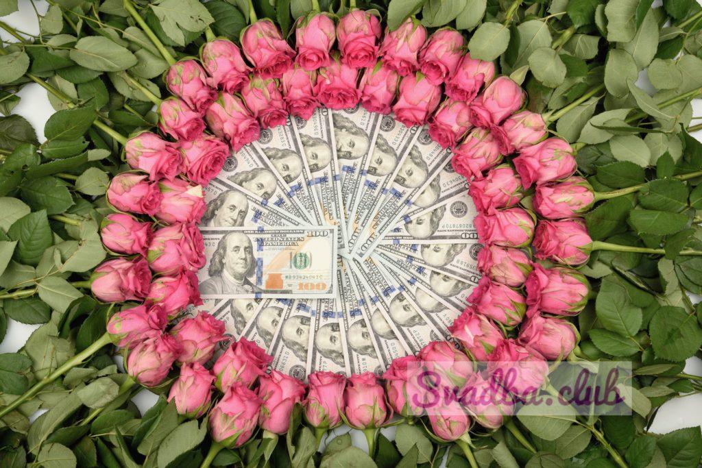 Креативно дарим деньги на свадьбу