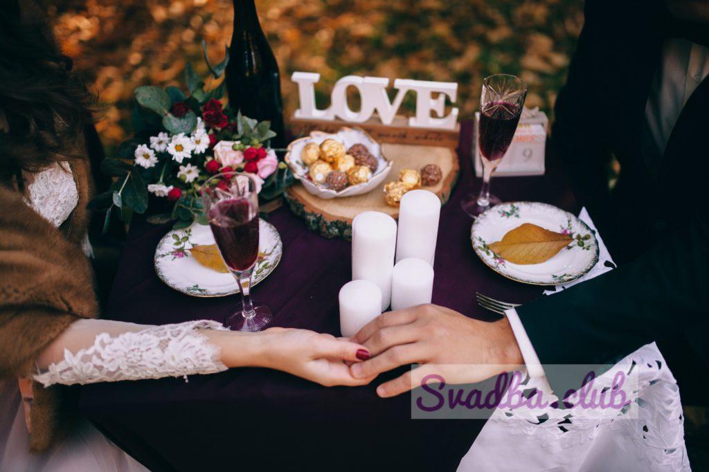 фото свадьбы в стиле рустик