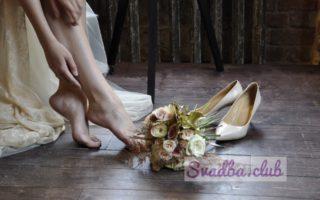 Туфли невесты-приметы и суеверия